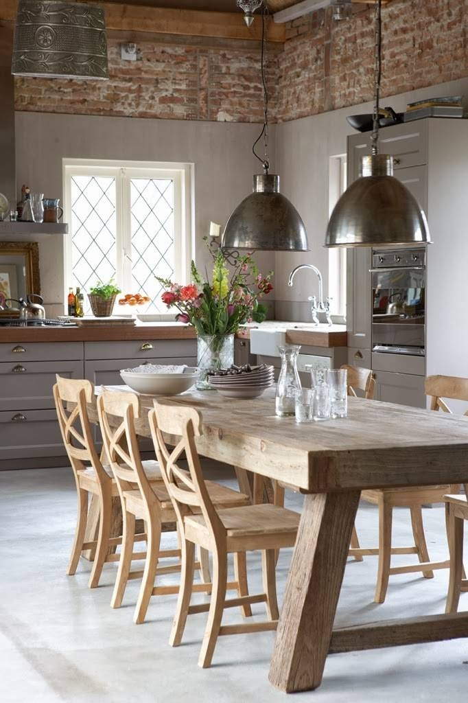 Pendant Lights Over The Dining Table | Norse White Design Blog In Most Up To Date Dining Table Pendants (#14 of 15)