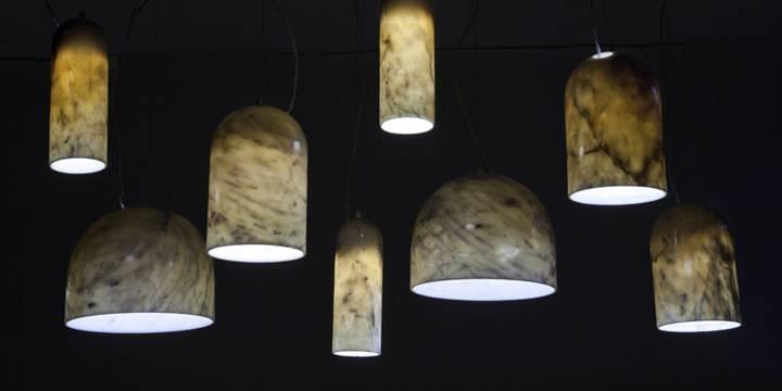 Inspiration about Quarry Lampsbenjamin Hubert For De La Espada » Retail Design Blog Inside Best And Newest Stone Pendant Lights (#6 of 15)