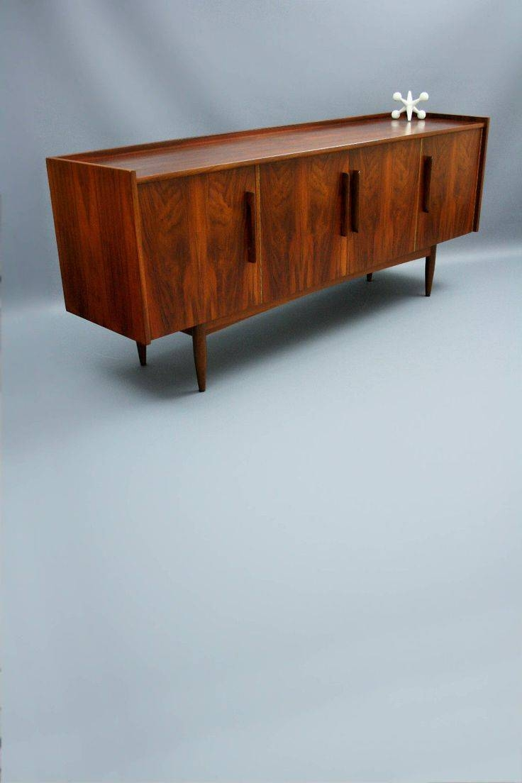 Rare Moderntone Mid Century Lowline Sideboard Buffet Retro Vintage Intended For Eames Sideboards (#13 of 15)