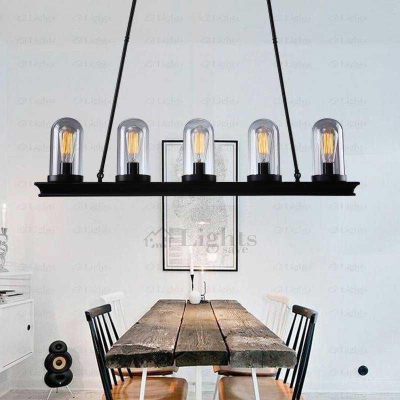 Rectangle Ceiling Plate Pendant Lights Industrial Style Within Most Current Industrial Style Pendant Lights (View 13 of 15)