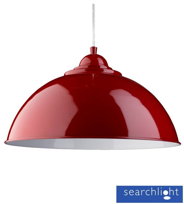 Inspiration about Red Ceiling Light Shade – Ceiling Designs For Latest Large Red Pendant Lights (#14 of 15)