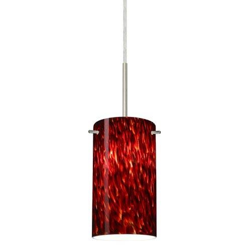 Red Mini Pendant Lighting | Bellacor With Regard To Current Red Glass Pendant Lights (#15 of 15)
