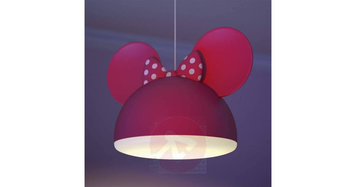 Inspiration about Red Minnie Mouse Pendant Light With Ears | Lights.ie Throughout Latest Minnie Mouse Pendant Lights (#3 of 15)