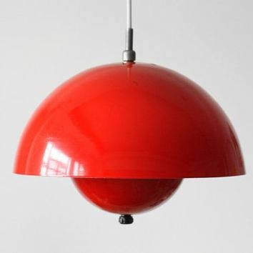 Inspiration about Red Pendant Light. Modern Minipendant Light With Red Glass. Full With Regard To Recent Large Red Pendant Lights (#12 of 15)