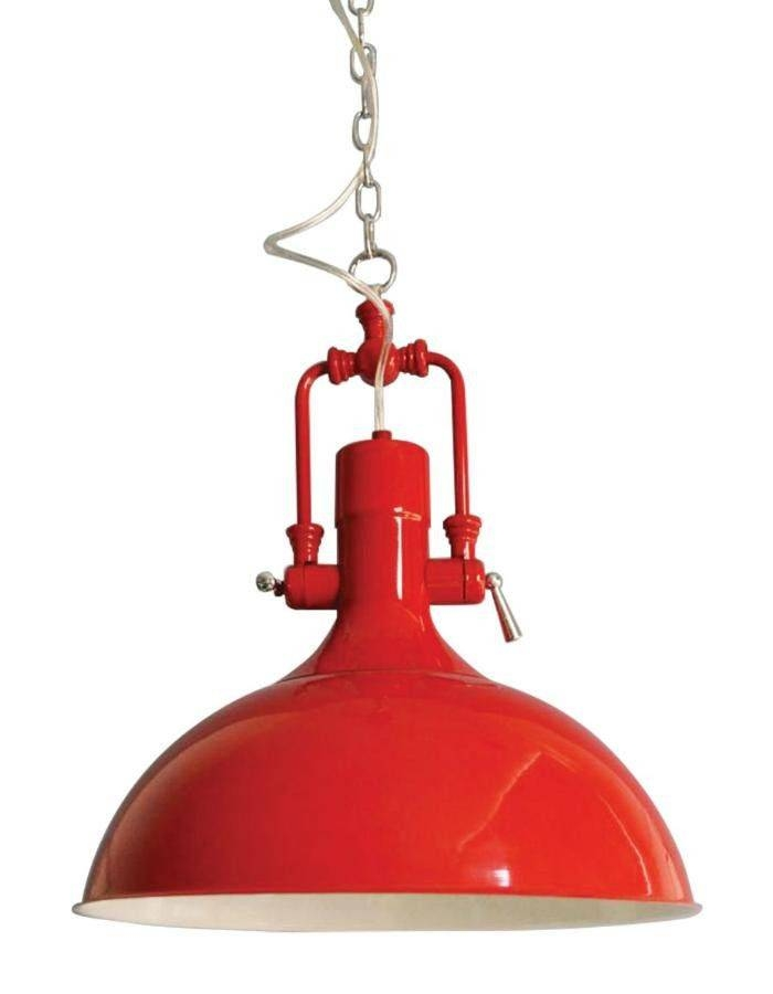 Inspiration about Red Pendant Lights – Design For Comfort Intended For 2017 Red Pendant Lights (#14 of 15)