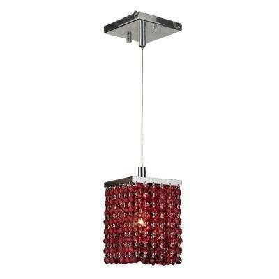 Inspiration about Red – Pendant Lights – Hanging Lights – The Home Depot With Best And Newest Red Pendant Lights (#1 of 15)