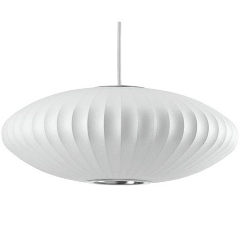 Inspiration about Replica George Nelson Saucer Bubble Pendant Lamp Light | White Within Most Recent Saucer Pendant Lights (#13 of 15)