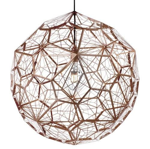 Replica Tom Dixon Etch Web Pendant Light Stainless Steel 65Cm | Ebay Regarding 2018 Tom Dixon Etch Web Pendants (#11 of 15)
