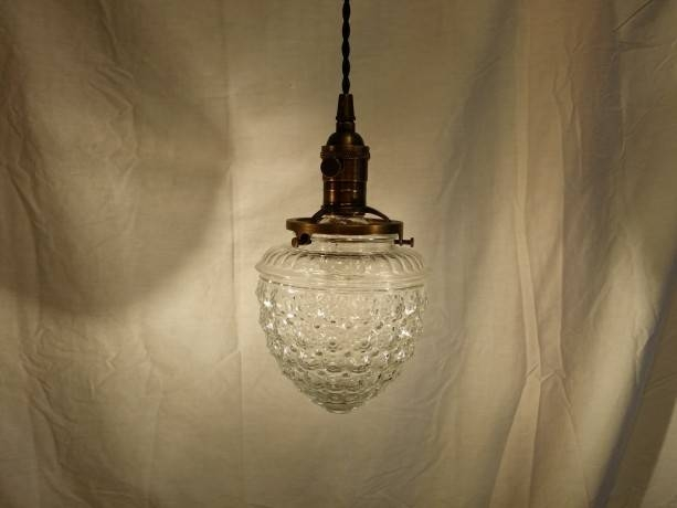 Inspiration about Repurposed Hanging Pendant Light Beautiful Acorn Clear Glass | Aftcra Regarding Most Up To Date Acorn Pendant Lights (#9 of 15)