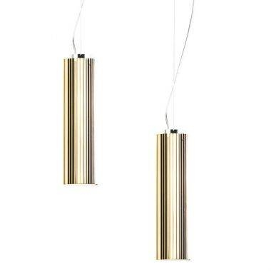 Inspiration about Rifly™ Modern Suspension Light With Metallic Gold Finish From Within Most Recent Long Pendant Lights (#13 of 15)