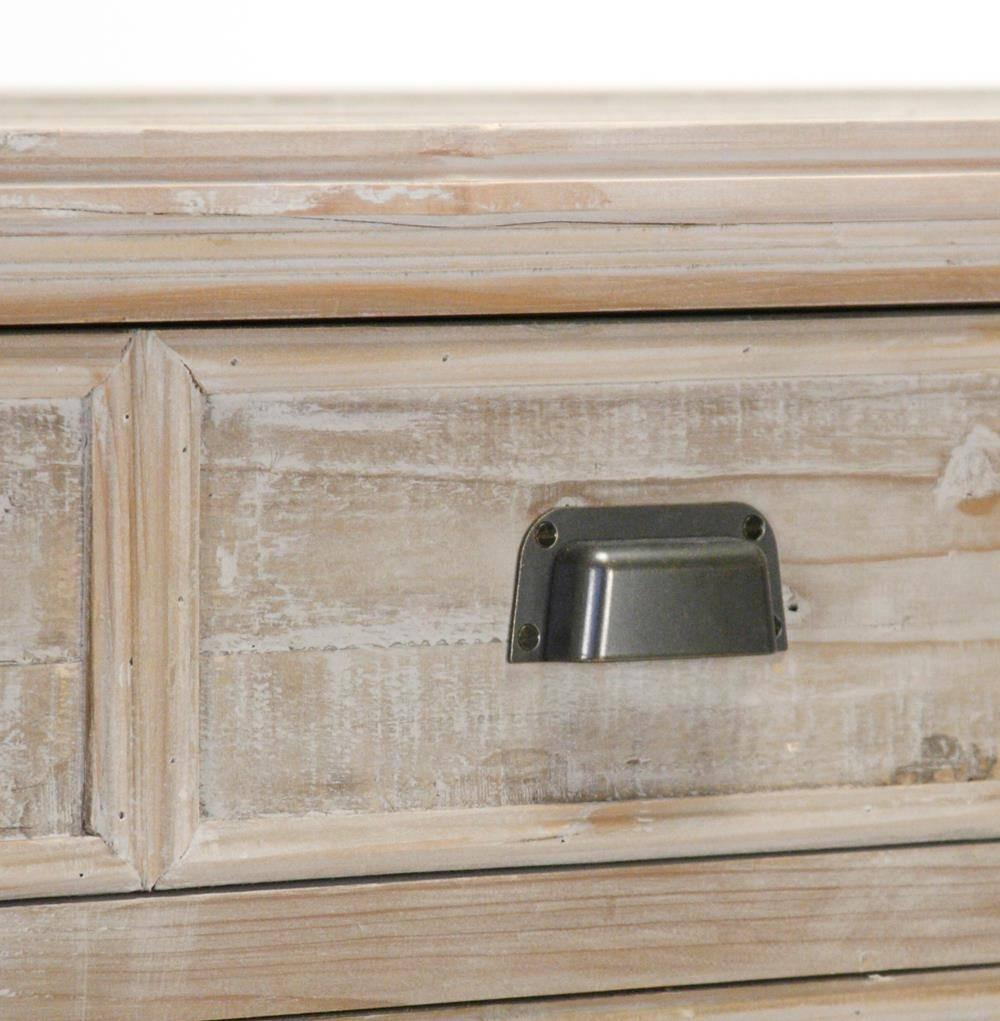Inspiration about Rupert Industrial Loft White Washed Reclaimed Oak Long Sideboard Regarding Reclaimed Oak Sideboards (#11 of 15)