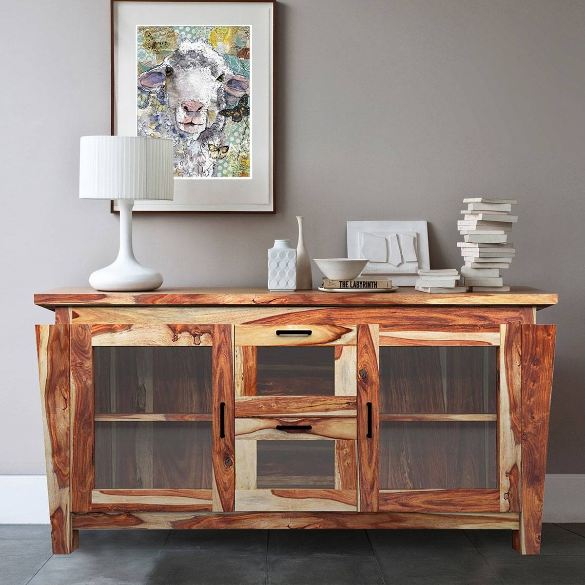 Rustic Buffets Sideboards With Distressed Wood Sideboards (View 6 of 15)