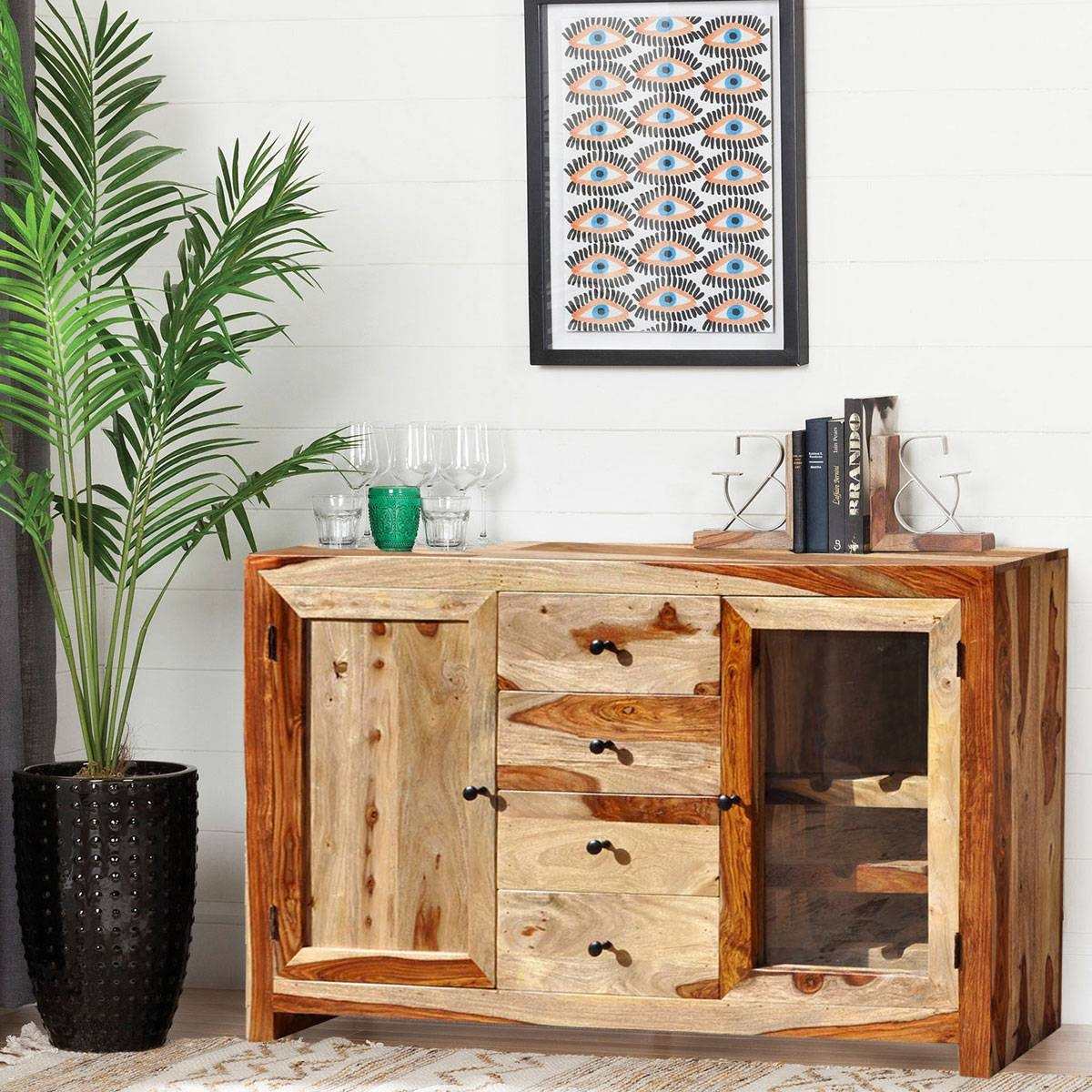 Rustic Buffets Sideboards With Distressed Wood Sideboards (View 3 of 15)