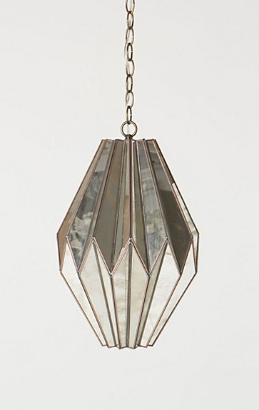 Saw This… Made That | Designnumbers With Regard To Mercury Glass Pendant Lights At Anthropologie (#14 of 15)