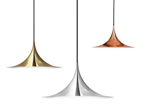 Semi Pendant Copper Inside Most Popular Gubi Semi Pendant Lights (View 13 of 15)