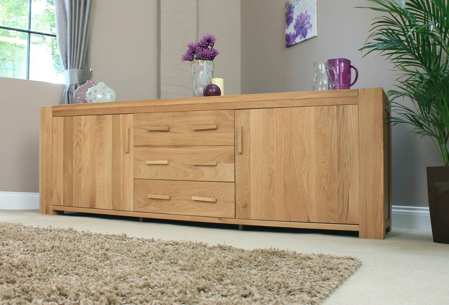 Sideboard : 76 Staggering Large Sideboards Picture Inspirations For Large Oak Sideboards (#12 of 15)