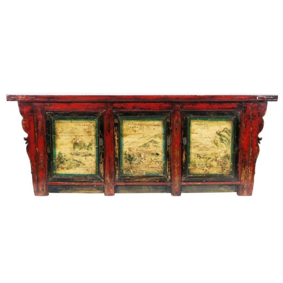 Sideboard : Asian Sideboard Furniture Chinese Sideboards And Throughout Asian Sideboards And Buffets (#4 of 15)