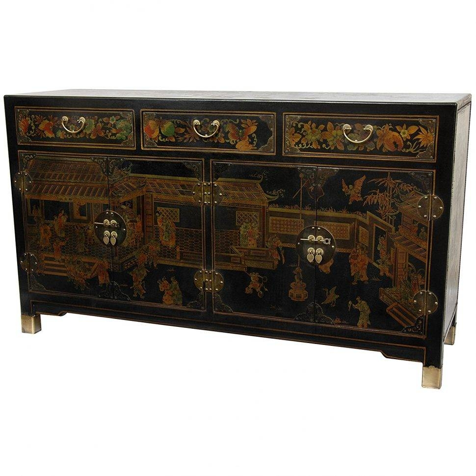Sideboard : Asian Sideboards And Buffets Style Sideboardsasian For With Regard To Asian Sideboards And Buffets (#12 of 15)