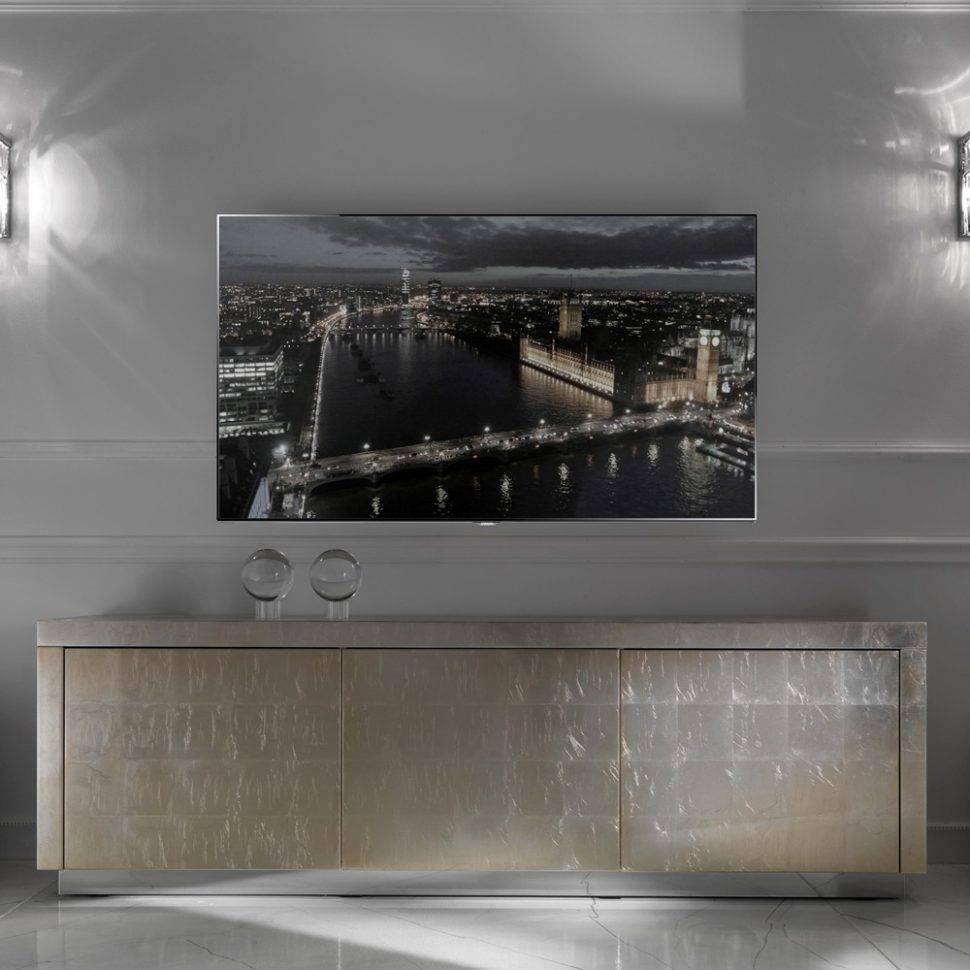 Sideboard : Htb1La19Gfxxxxazaxxxq6Xxfxxxy Silver Modernssilvers With Regard To Black And Silver Sideboards (View 8 of 15)