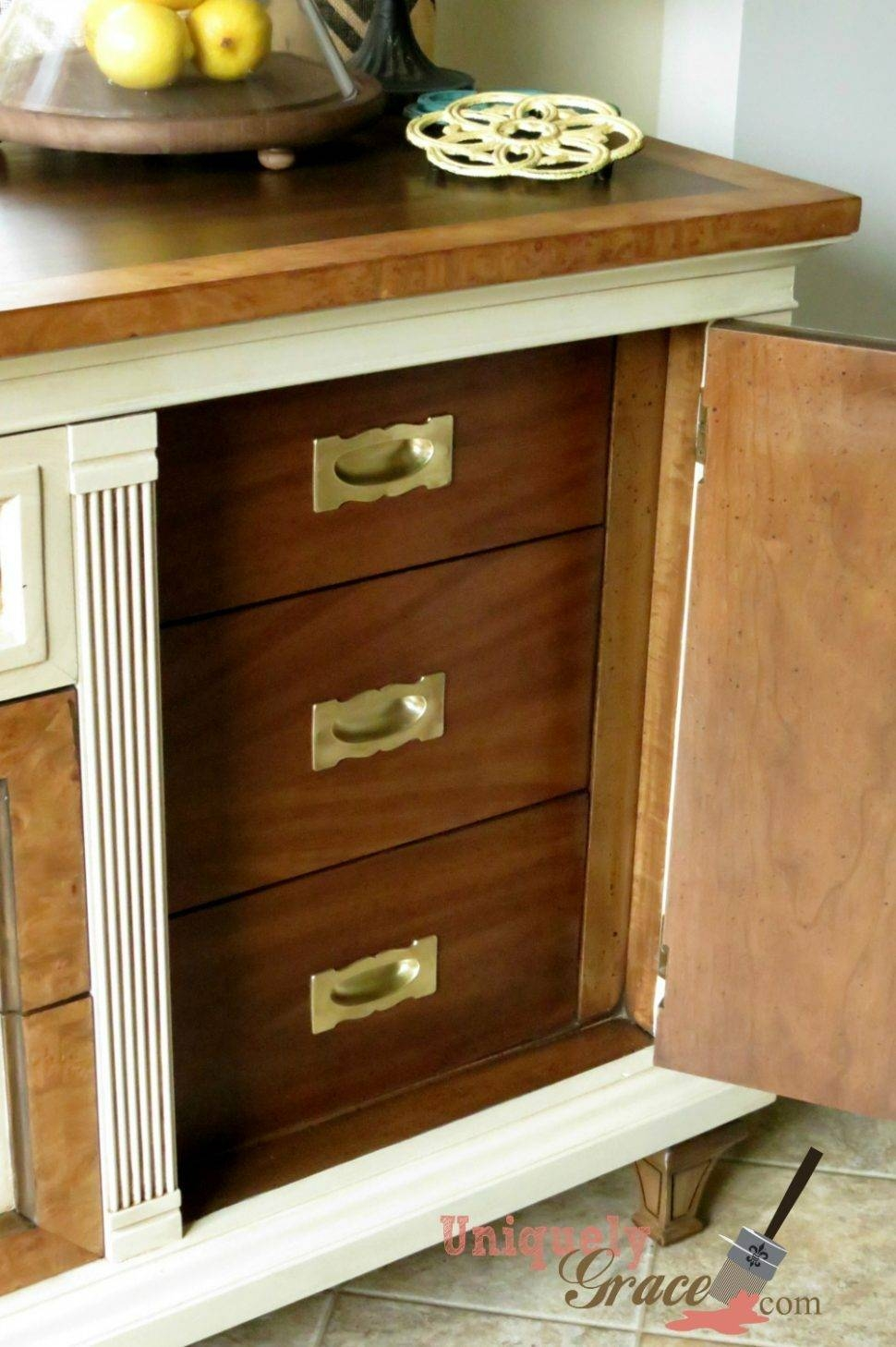 Sideboard : Inch Sideboard Dresser Beautiful Photo Concept Vintage For 80 Inch Sideboards (#7 of 15)