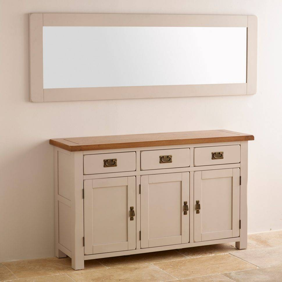 Sideboard : Latest Cream Kitchendeboards And Oakdeboard Unique Regarding Cream Sideboards (#12 of 15)