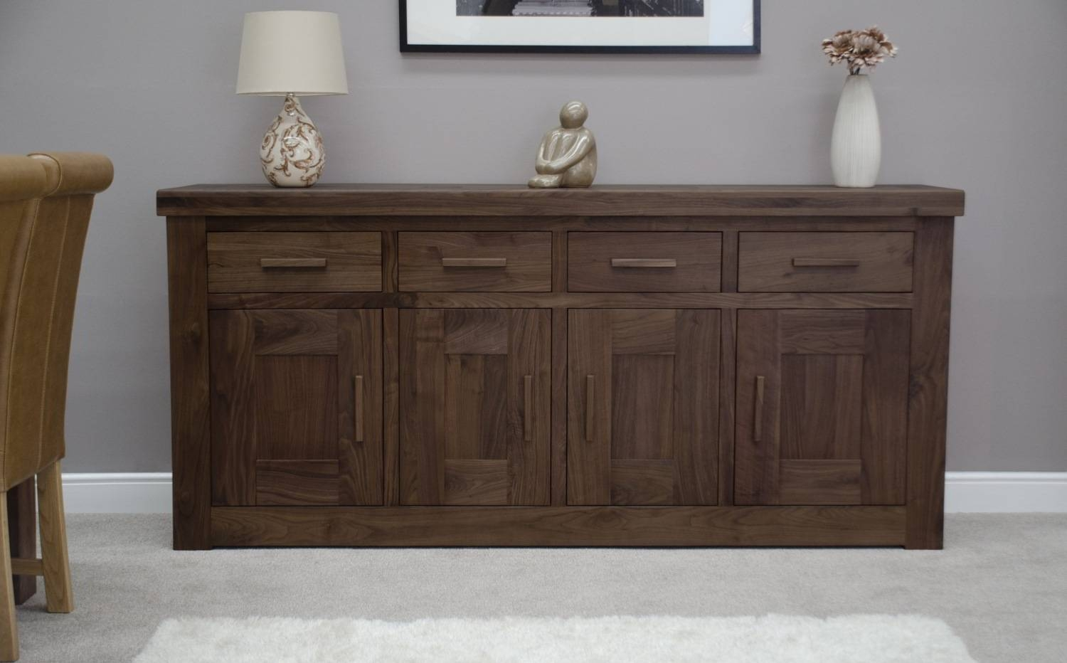 15 Ideas Of Walnut And Black Sideboards