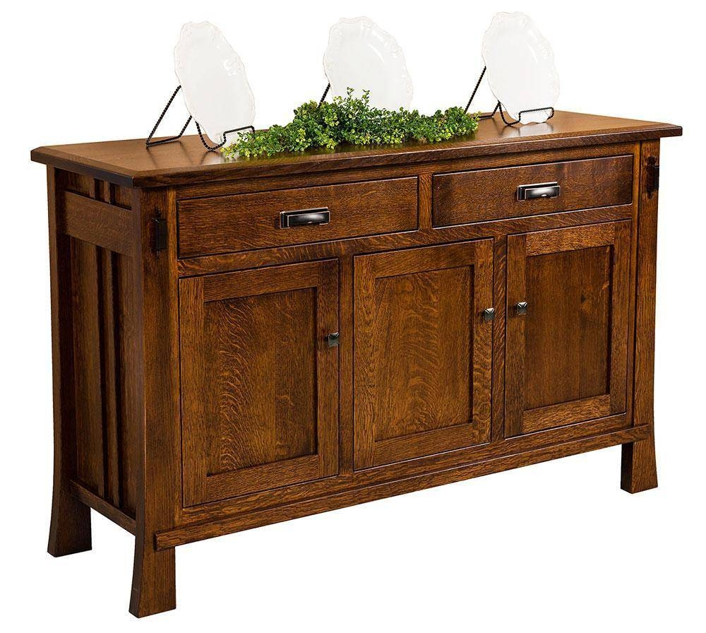 Sideboards: Astounding Solid Wood Sideboard Solid Wood Buffet Pertaining To Solid Wood Sideboards And Buffets (#11 of 15)