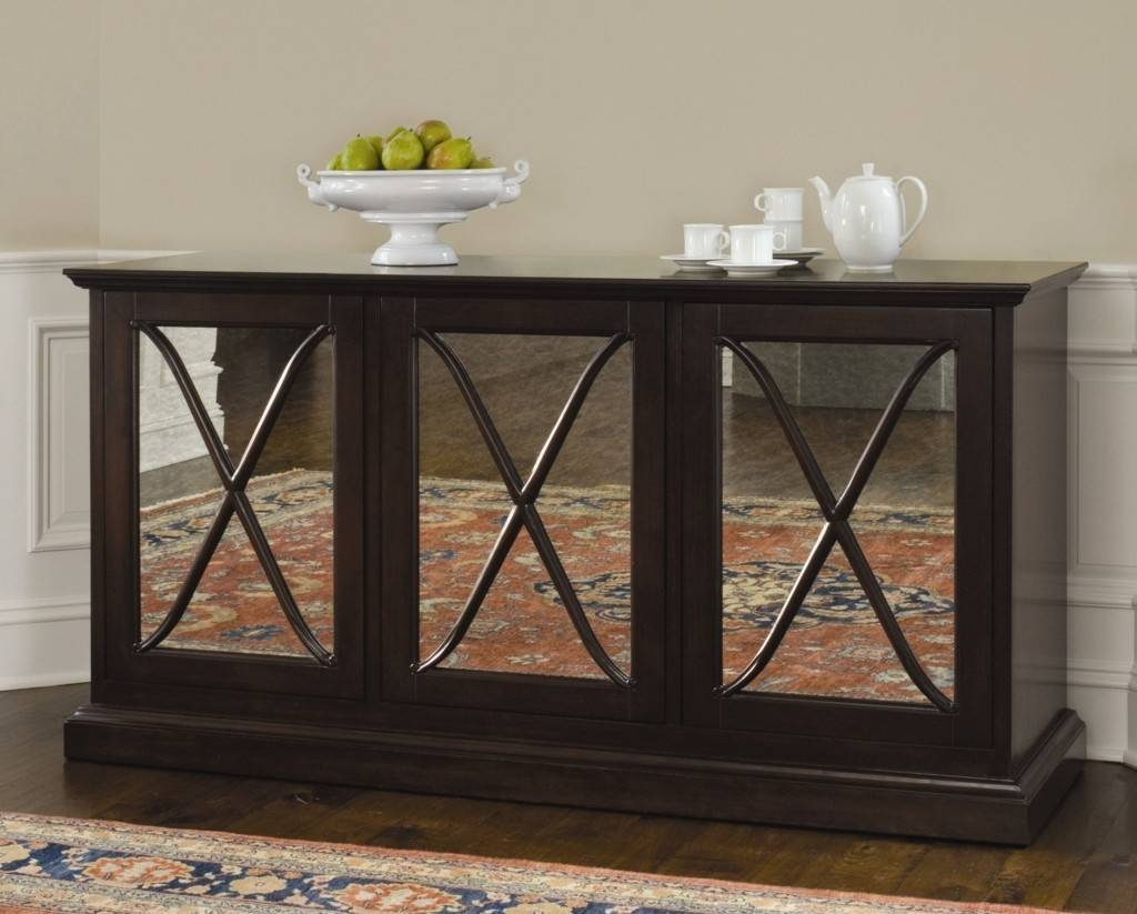 Sideboards: Awesome Small Dining Room Sideboard Bed Sideboards In Dark Brown Sideboards (#14 of 15)