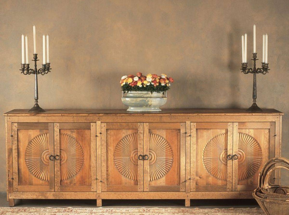 Sideboards Furniture: Southwest Furniture, Santa Fe Style Pertaining To Santa Fe Sideboards (#11 of 15)