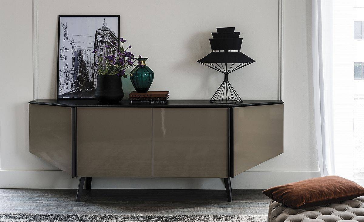 Sideboards: Glamorous Contemporary Sideboard Contemporary With Elegant Sideboards (#13 of 15)