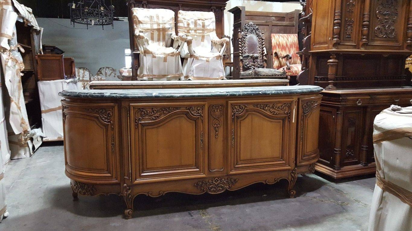 Inspirations of marble top sideboards and buffets