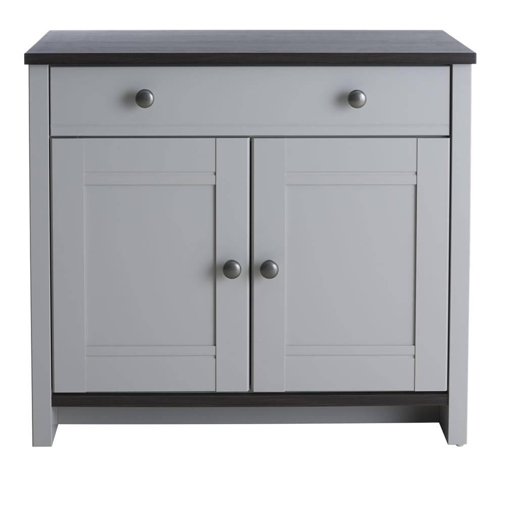 Sideboards: Marvellous Grey Sideboard Dark Grey Buffet, Dark Grey Intended For Grey Sideboards (#14 of 15)