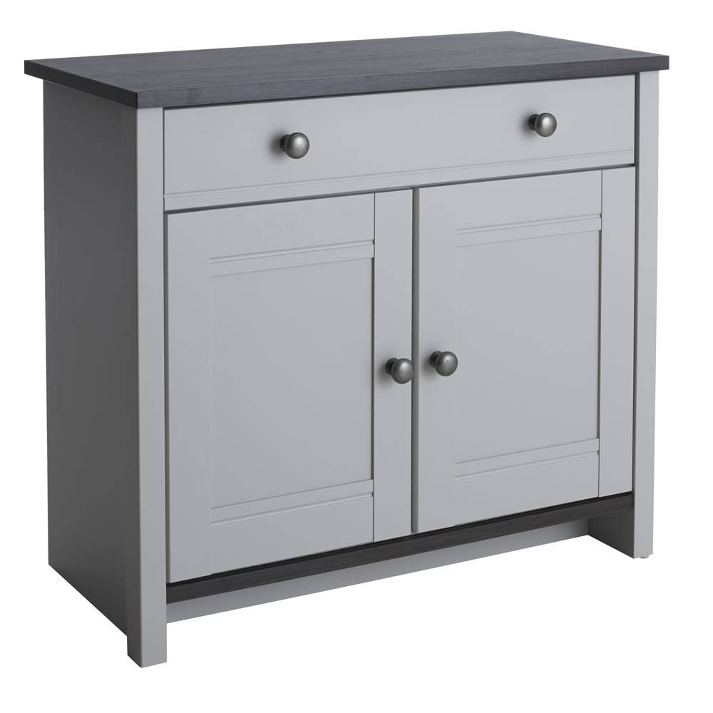 Sideboards: Marvellous Grey Sideboard Dark Grey Buffet, Dark Grey Pertaining To Dark Grey Sideboards (#15 of 15)