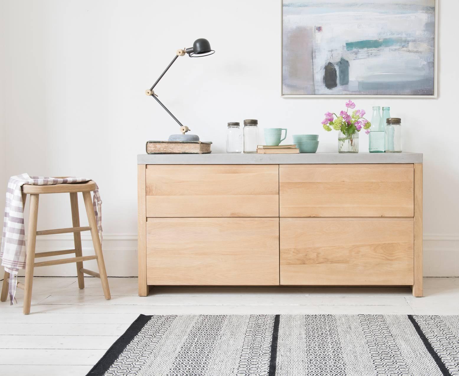 Sidewalk Oak Sideboard | Wooden Sideboard | Loaf Inside Small Modern Sideboards (#15 of 15)