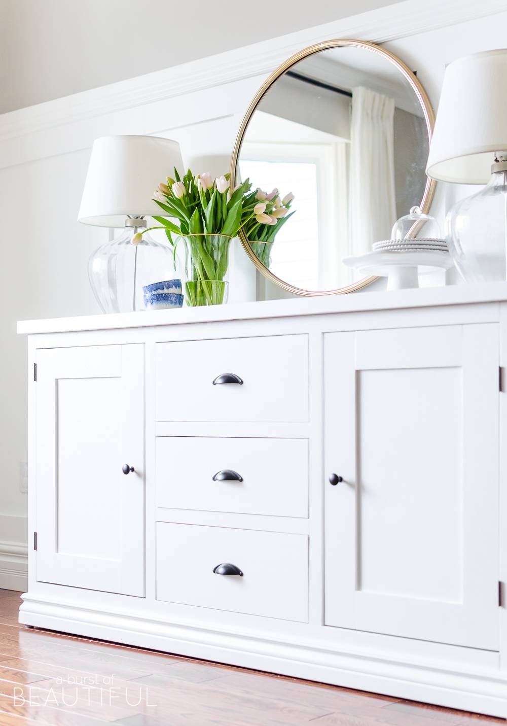 15 best of farmhouse sideboards and buffets. Black Bedroom Furniture Sets. Home Design Ideas