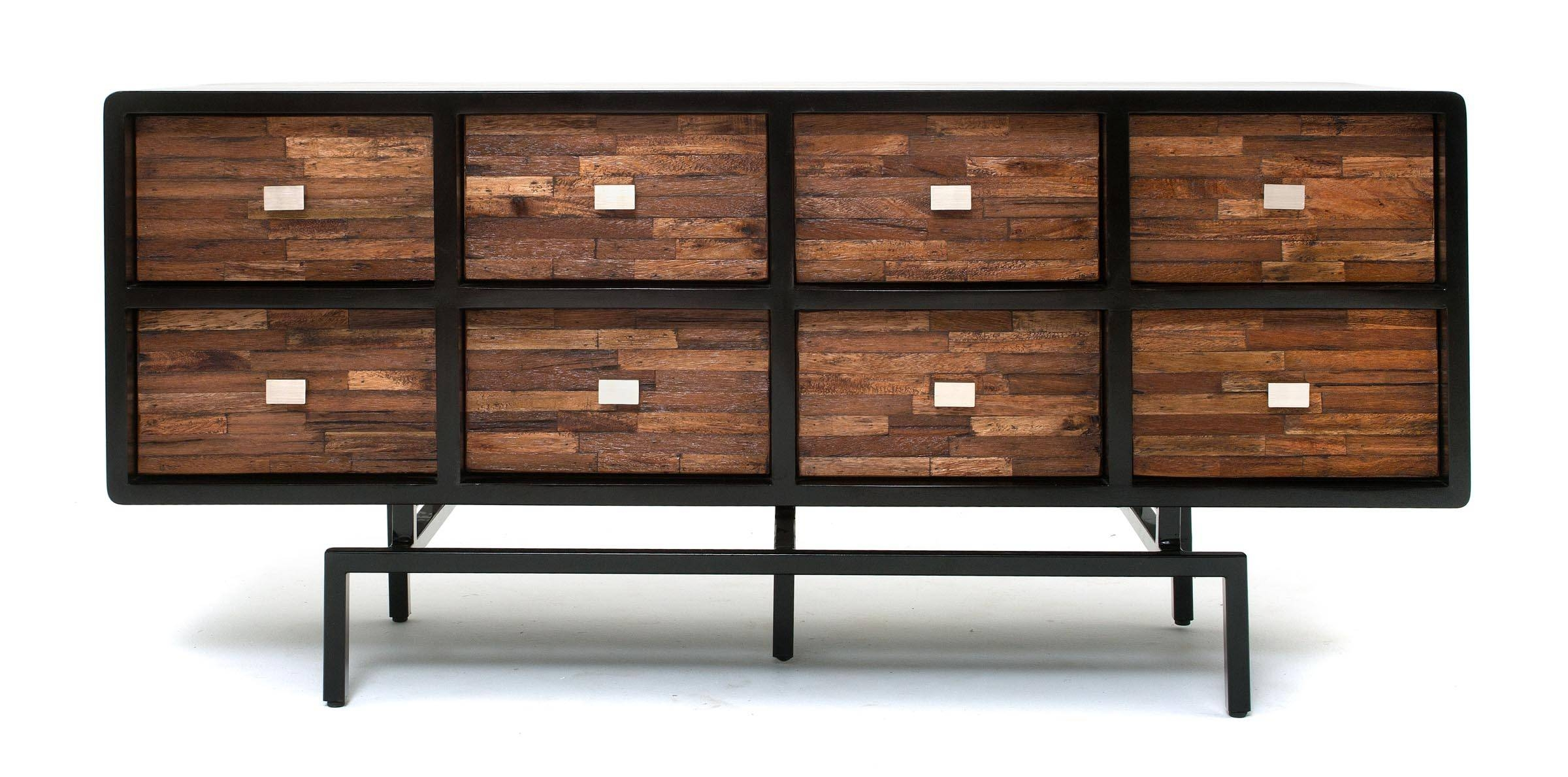 Soft Modern Furniture, Sustainable Sideboard, Reclaimed Wood Pertaining To Modern Sideboard Furniture (View 14 of 15)