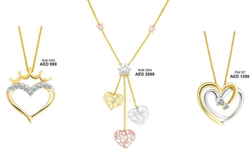 Spiced Up Valentine's Day Offers Keeps Dubai Gold Rush Going Intended For Most Popular Valentine Pendants (#13 of 15)