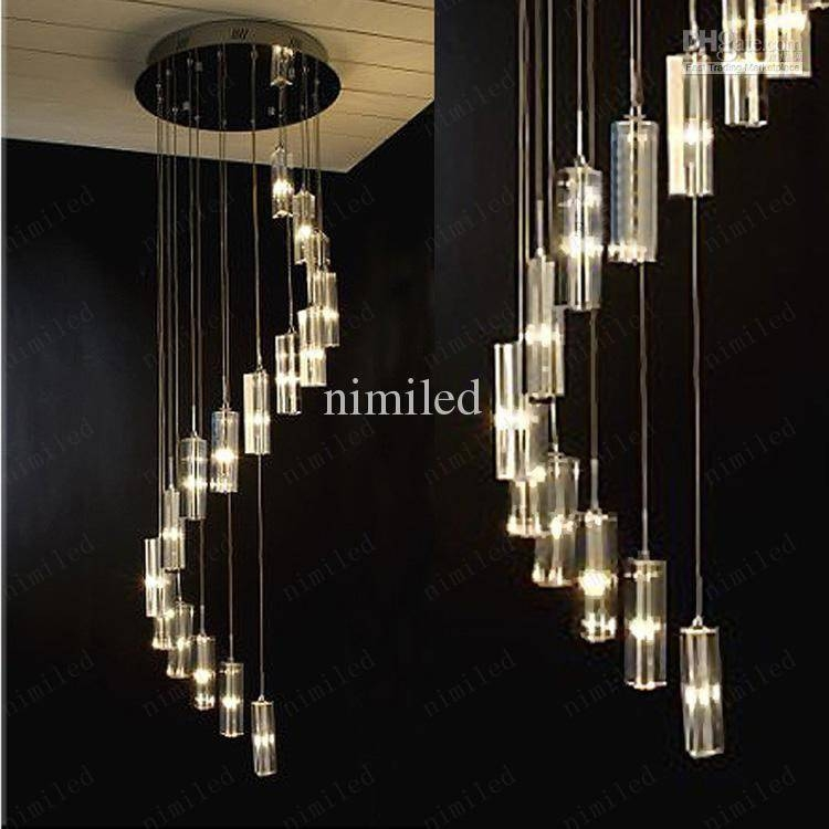 Spiral Staircase Chandelier Search Library Module 12 – Chandelier In Best And Newest Modern Pendant Chandeliers (#14 of 15)