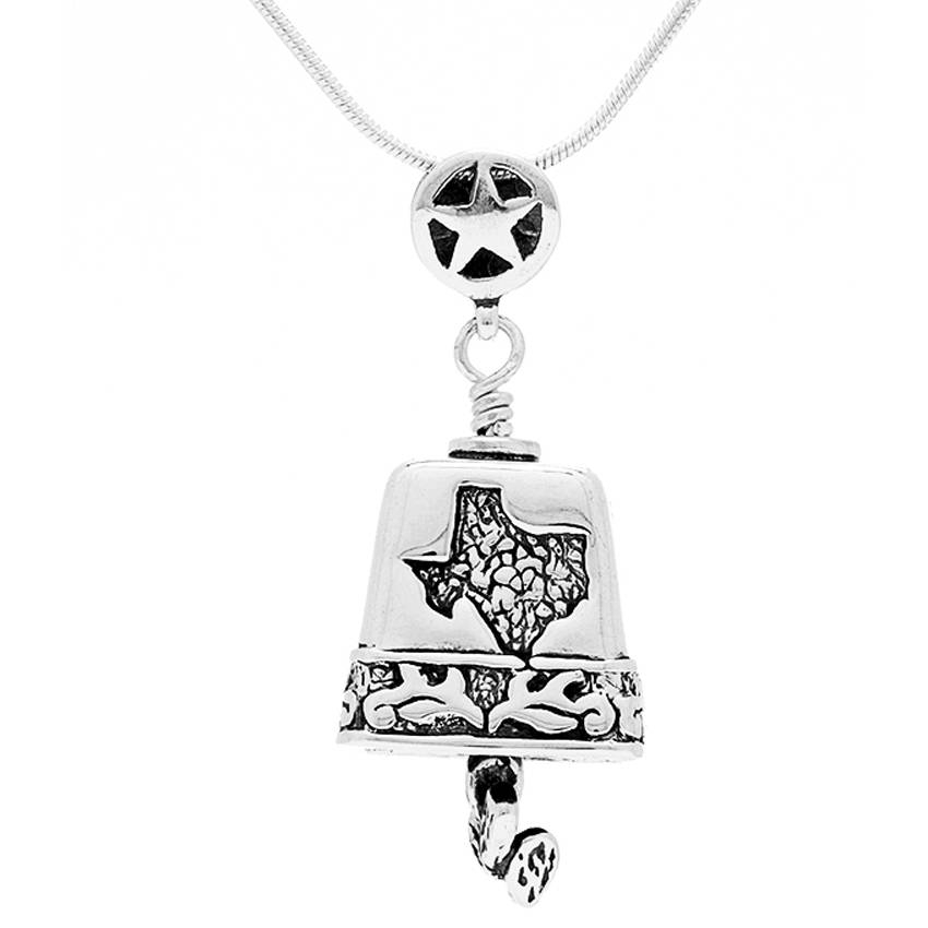 Spirit Of Texas Bell Pendant – The Bell Collection Pendants Throughout 2017 Bell Pendants (#12 of 15)