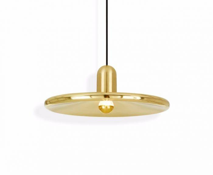 Spun Pendant Brass | Pendant Lights | Tom Dixon Inside Current Tom Dixon Brass Pendants (#12 of 15)