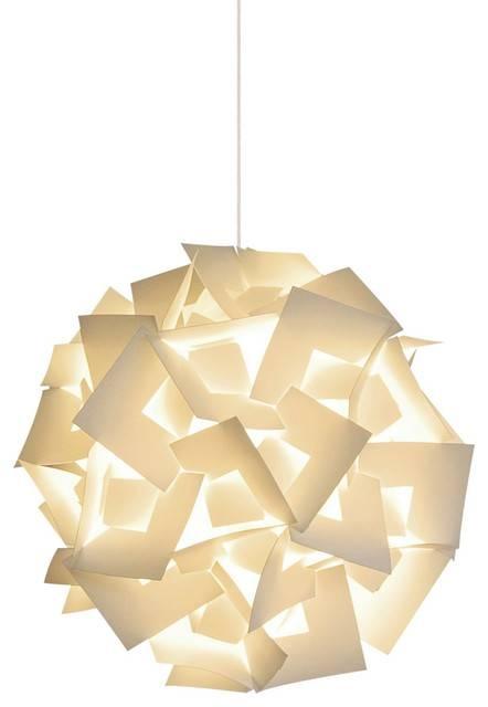 Squares Hanging Pendant Lamp – Modern – Pendant Lighting – Throughout 2017 Akari Pendants (#15 of 15)