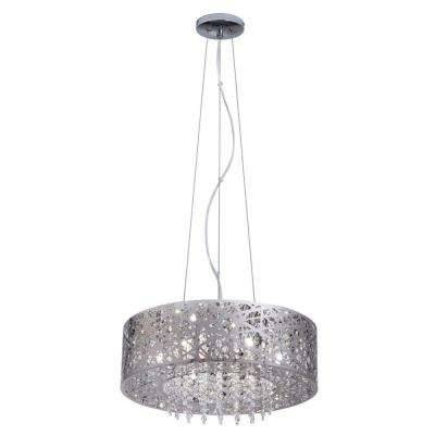 Stainless Steel – Pendant Lights – Hanging Lights – The Home Depot With Regard To Stainless Steel Pendant Light Fixtures (View 5 of 15)