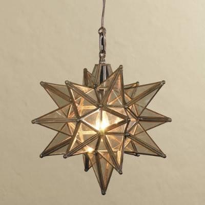 Star Pendant Light   Homedesig (#12 of 15)