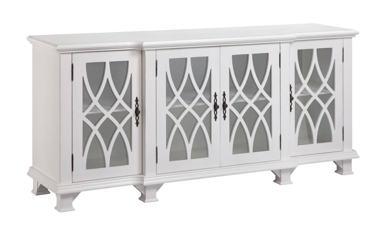 Stein World Anastasia Sideboard & Reviews | Wayfair Regarding White Sideboard Cabinets (View 10 of 15)