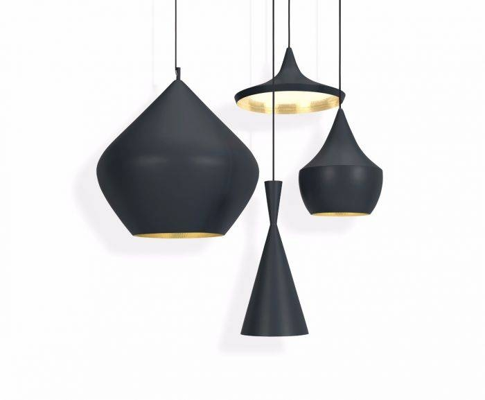 Stunning Pendant Light Black Beat Stout Black Pendant Pendant Throughout Most Popular Tom Dixon Pendant Lights (#13 of 15)