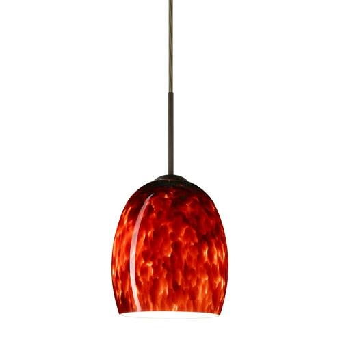 Stunning Red Pendant Light Red Mini Pendant Lighting Bellacor Intended For Most Recent Large Red Pendant Lights (View 7 of 15)