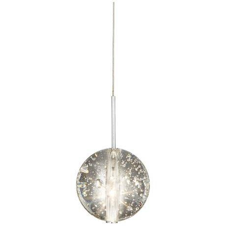 Suspended 3 Light Glass Globe Bubble Pendant Chandelier – Bubble With Recent Bubble Pendant Lights (#15 of 15)