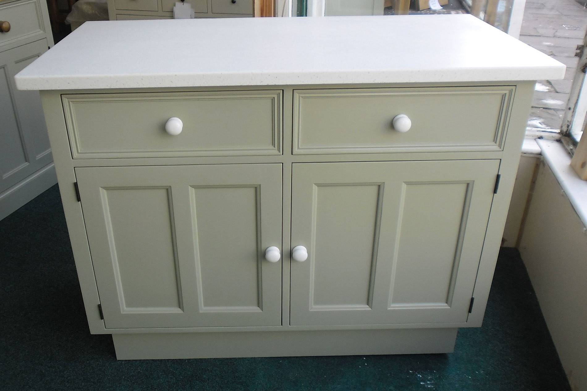 Grey Mirrored Dresser