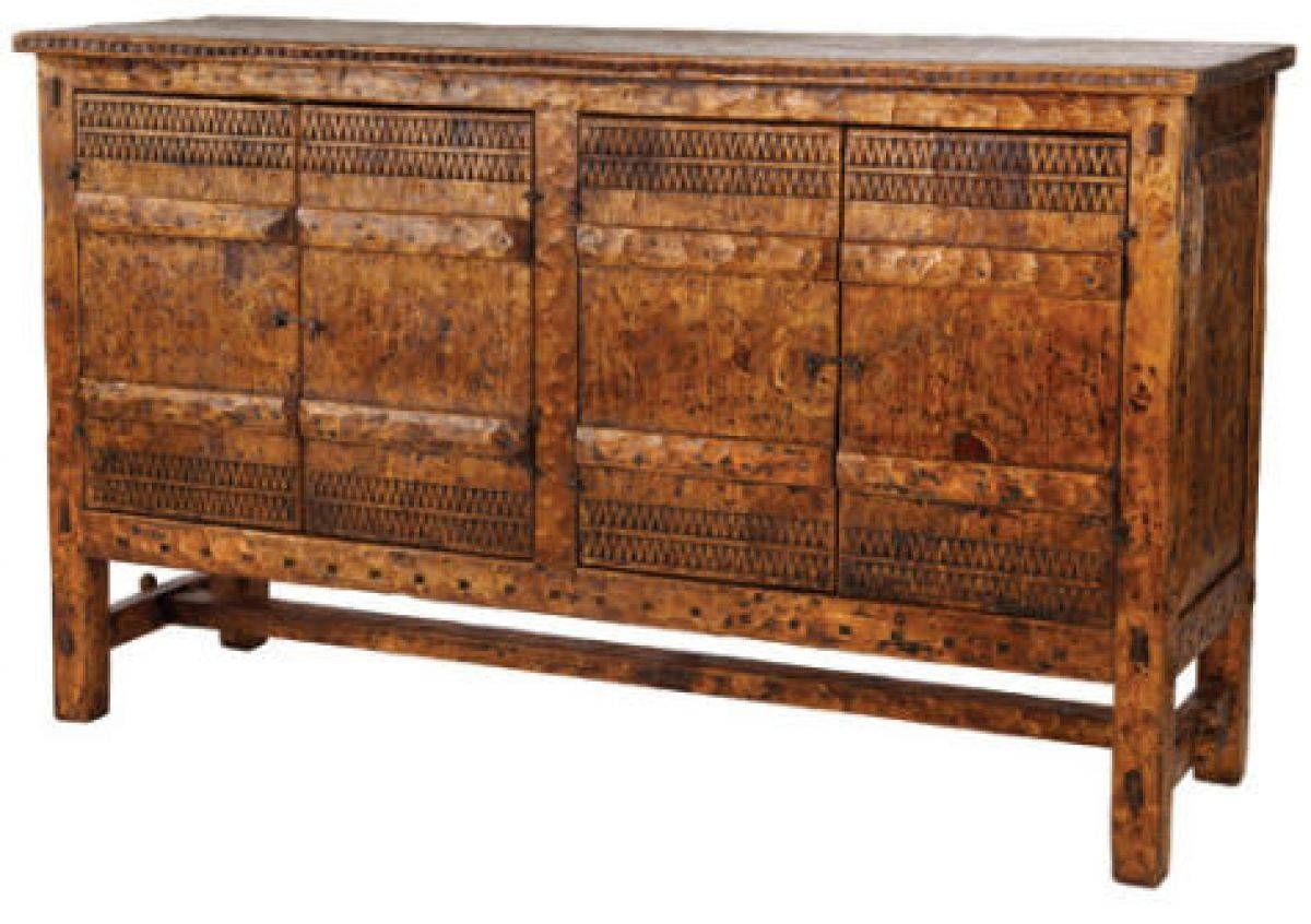 Tecolote Sideboard: Southwest Furniture, Santa Fe Style: Southwest With Regard To Santa Fe Sideboards (#13 of 15)