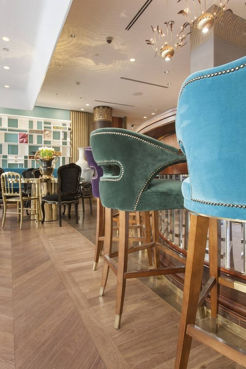 The Stunning Sideboards In Russian Restaurant Cococo Pertaining To Restaurant Sideboards (#14 of 15)